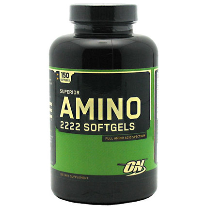 Optimum Nutrition Superior Amino 2222 Softgels, 150 Softgels