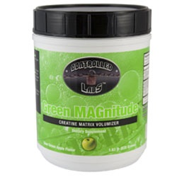 GREEN MAGNITUDE, 80 Servings, Sour Green Apple Flavor 895328001347
