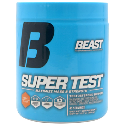 Super Test, 45 Servings, Iced T Flavor 631312704517