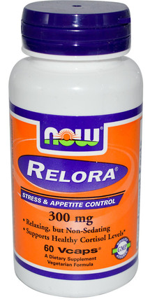 NOW Foods Relora 300mg, 60 Vegi Capsules
