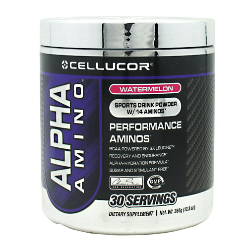 Alpha Amino, 30 Servings, Watermelon Flavor 810390024131, 810390021406