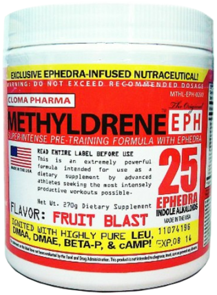 Cloma Pharma Methyldrene EPH Powder