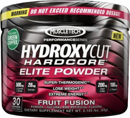 Muscletech Hydroxycut Hardcore Elite, 30 Servings