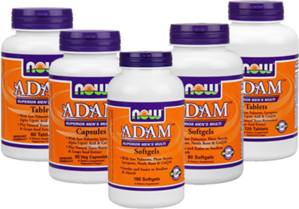 NOW Foods ADAM Superior Men's Multiple Vitamin