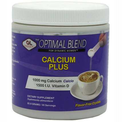 Olympian Labs Optimal Blend Calcium Plus, 30 Servings