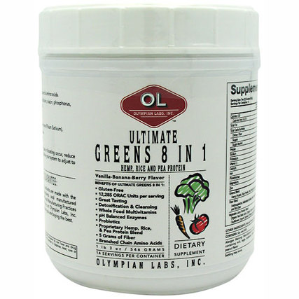 Olympian Labs Ultimate Greens, 14 Servings