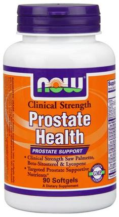 NOW Foods Prostate Health Clinical Strength, 90 Softgels
