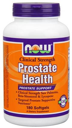 NOW Foods Prostate Health Clinical Strength, 180 Softgels