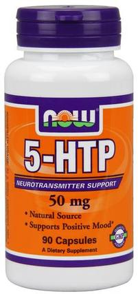 NOW Foods 5-HTP 50 mg., 90 Capsules