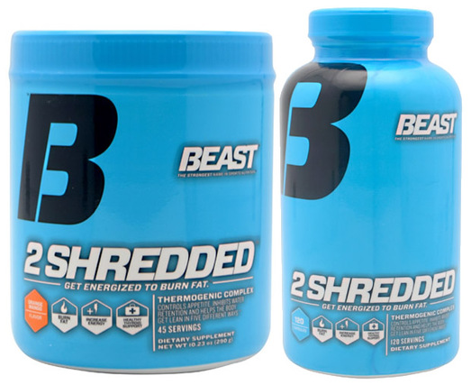 Beast Sports 2 Shredded by Beast Sports Nutrition