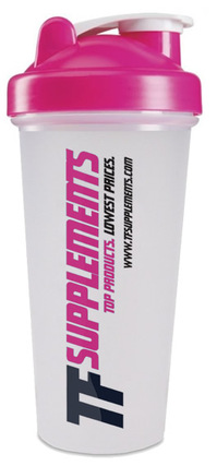 TFSupplements TF Shaker Cup, Pink Color