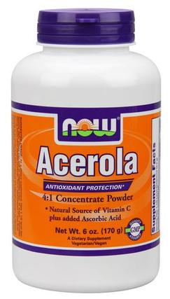 NOW Foods Acerola, 6 Ounces