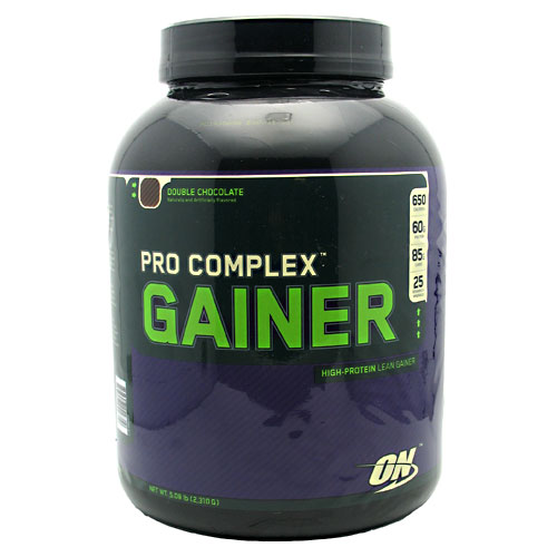 PRO COMPLEX GAINER, 5 Pounds, Double Chocolate Flavor 748927029710