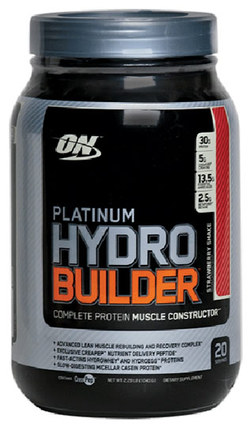 Optimum Nutrition Platinum Hydrobuilder, 2.2 Pounds