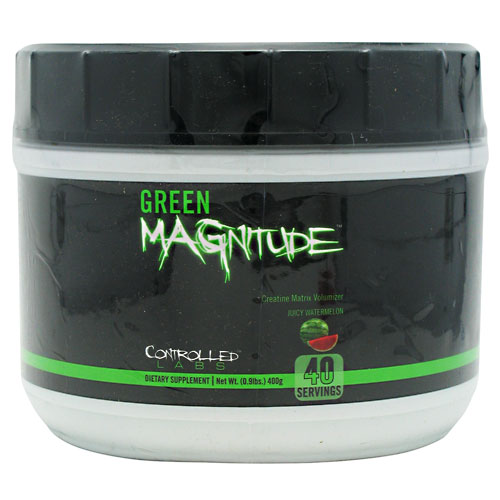 GREEN MAGNITUDE, 40 Servings, Juicy Watermelon Flavor 895328002306