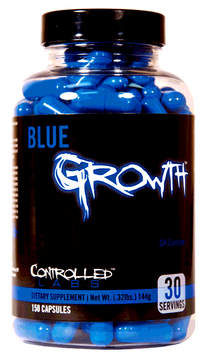 Blue Growth, 150 Capsules 895328001774