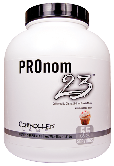 PROnom 23, 4 Pounds, Vanilla Cupcake Batter Flavor 895328001996