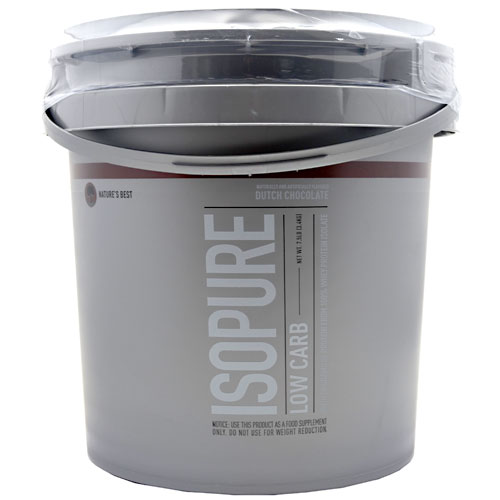 ISOPURE (Low Carb), 7.5 Pounds, Dutch Chocolate Flavor 089094021535