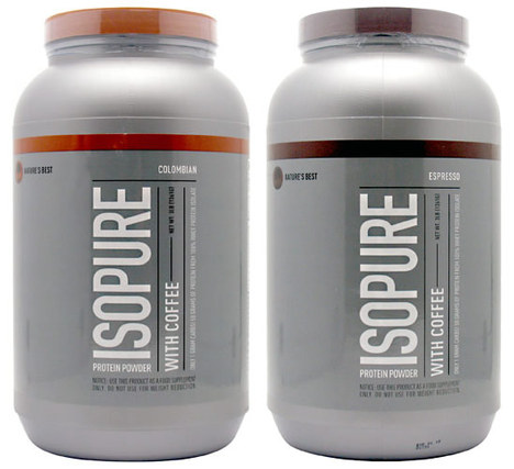 Natures Best ISOPURE with Coffee (Low Carb)