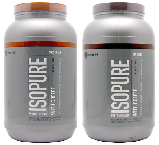 ISOPURE with Coffee (Low Carb), 3 Pounds, Espresso Flavor 089094022297