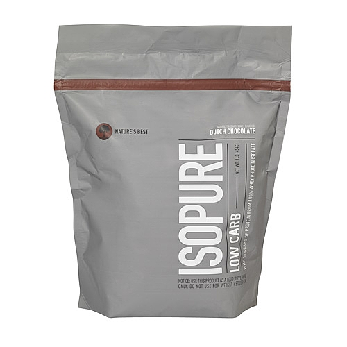 ISOPURE (Low Carb), 1 Pound, Dutch Chocolate Flavor 089094022518