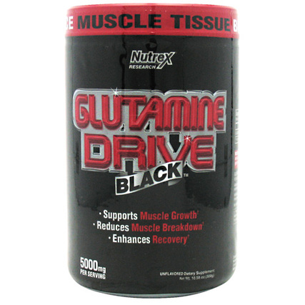 Nutrex Glutamine Drive Black, 60 Servings
