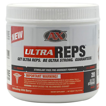 Athletic Xtreme (AX) Ultra Reps, 20 Servings