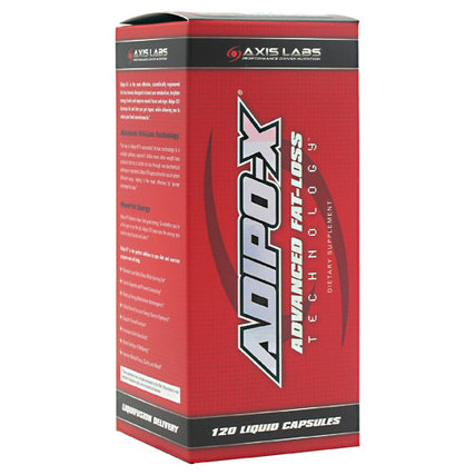 Axis Labs Adipo-X, 120 Liquid Capsules