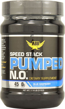 ABB Speed Stack Pumped N.O., 45 Servings
