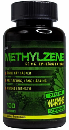 Hard Rock Supplements Methylzene, 100 Capsules