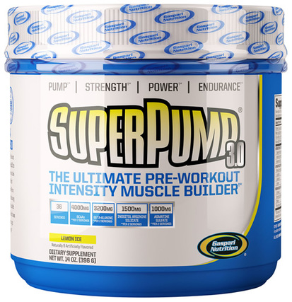 Gaspari Nutrition SuperPump 3.0, 36 Servings