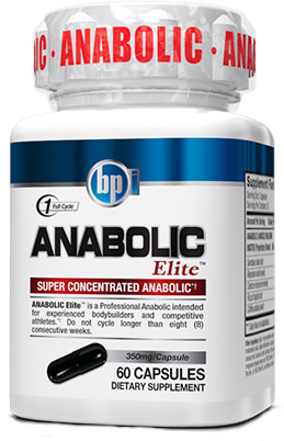 BPI Sports Anabolic Elite, 60 Capsules