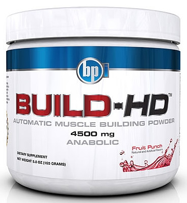 Build HD, 30 Servings, Fruit Punch Flavor 851780004029