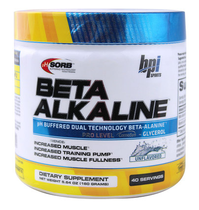 BPI Sports Beta Alkaline, 40 Servings