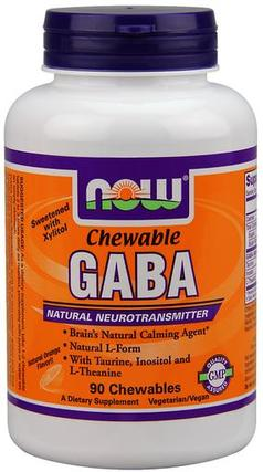 GABA Orange Flavor Chewable