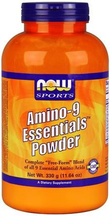 NOW Foods Amino-9 Essentials Powder, 330 Grams