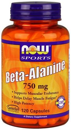 Beta-Alanine 750 mg. per capsule