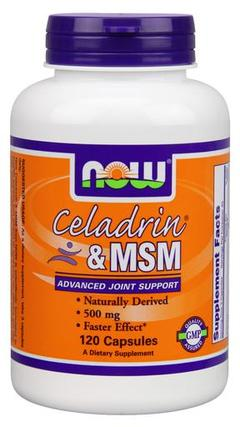 NOW Foods Celadrin and MSM, 120 Capsules
