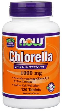NOW Foods Chlorella 1000 mg. per tablet, 120 Tablets