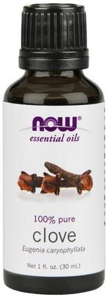 NOW Foods Clove Oil, 1 Fluid Ounce