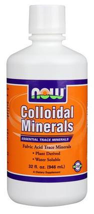NOW Foods Colloidal Minerals, 32 Ounces