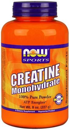 NOW Foods Creatine Monohydrate, 8 Ounces