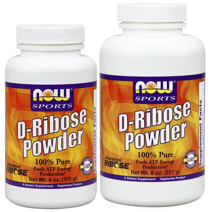 NOW Foods D-Ribose Pure Powder