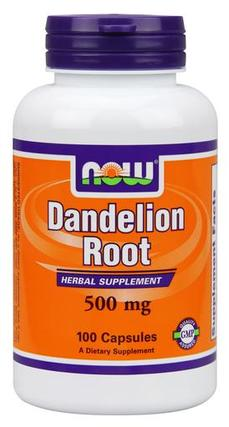 NOW Foods Dandelion Root 500 mg. per capsule