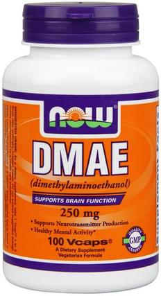 NOW Foods DMAE 250 mg. per capsule
