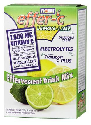 Effer-C Lemon Lime Packets