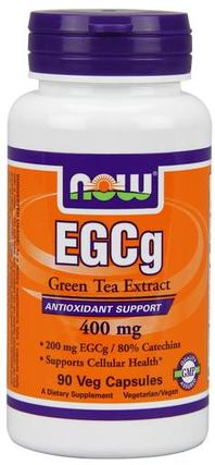 NOW Foods EGCG 400mg 50%, 90 Vegi Capsules