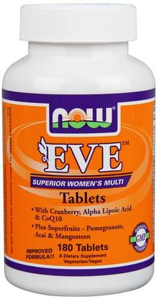NOW Foods Eve Women's Multiple Vitamin, 180 Tablets
