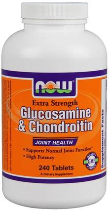NOW Foods Glucosamine & Chondroitin Extra Strength, 240 Tablets