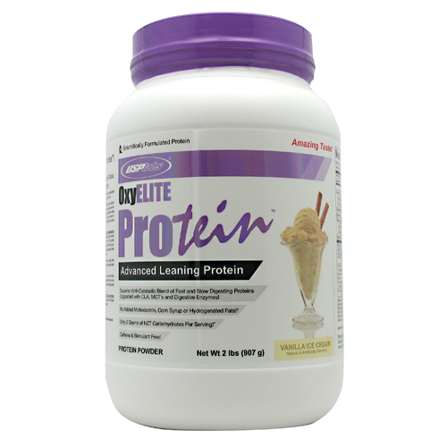 OxyElite Protein, 2 Pounds, Strawberry Cheescake Flavor 094922447661